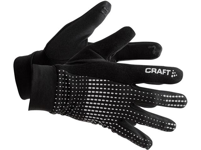 Craft Brilliant 2.0 handschoenen, black solid